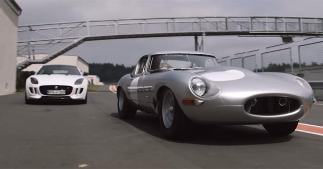 Video: Reborn Jaguar Lightweight E-Type Clip