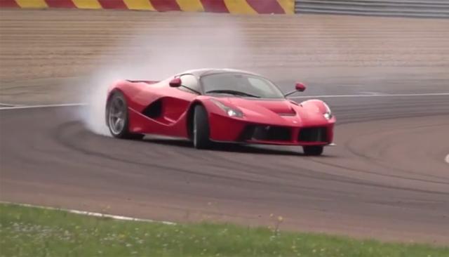 Video: Chris Harris Thrashes the 2014 Ferrari LaFerrari!