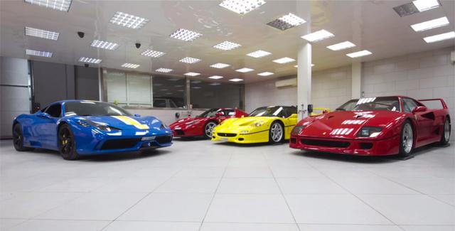 Video Extremely Impressive Dubai Supercar Collection