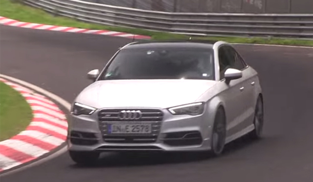 Video: Possible Audi S3 Plus Tests at the Nurburgring
