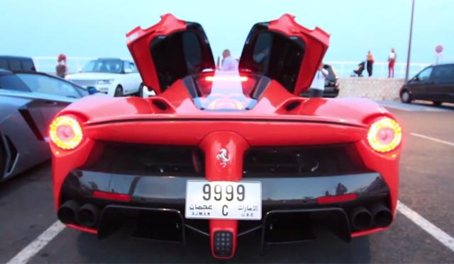 Video: Two Ferrari LaFerraris Start Up!