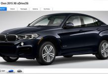 Second Generation BMW X6 Online Configurator Goes Online