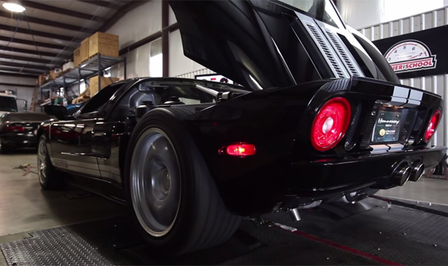 Video Twin Turbo And Supercharged Ford Gt By Hennessey