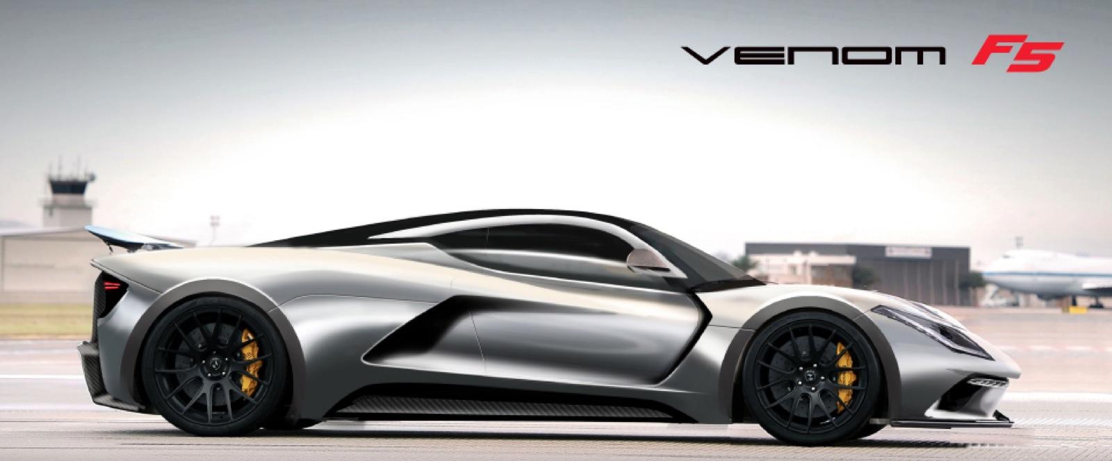 New hypercars - 1500 hp Hennessy Venom GT2 and 1400 hp Koenigsegg ...