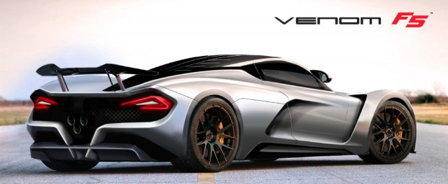 Hennessey Developing New Venom F5 Hypercar Capable of 290mph!