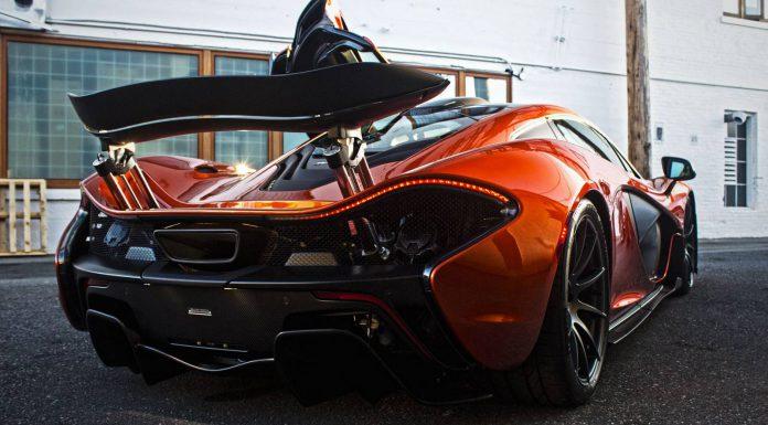 Volcano Orange McLaren P1 #174 in Canada
