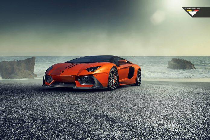 Official: Vorsteiner Lamborghini Aventador-V Zaragoza Front Spoiler