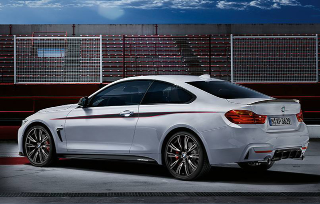 BMW 4-Series Convertible and Coupe With M Performance Parts