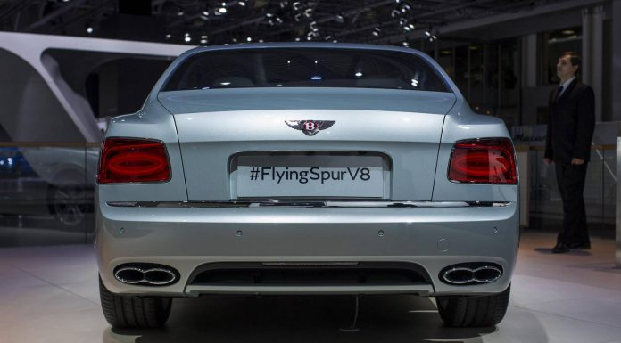 Moscow 2014: Bentley Flying Spur V8