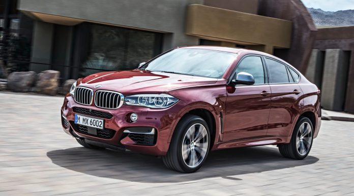 Refreshed BMW X6 Confirmed for Paris Debut