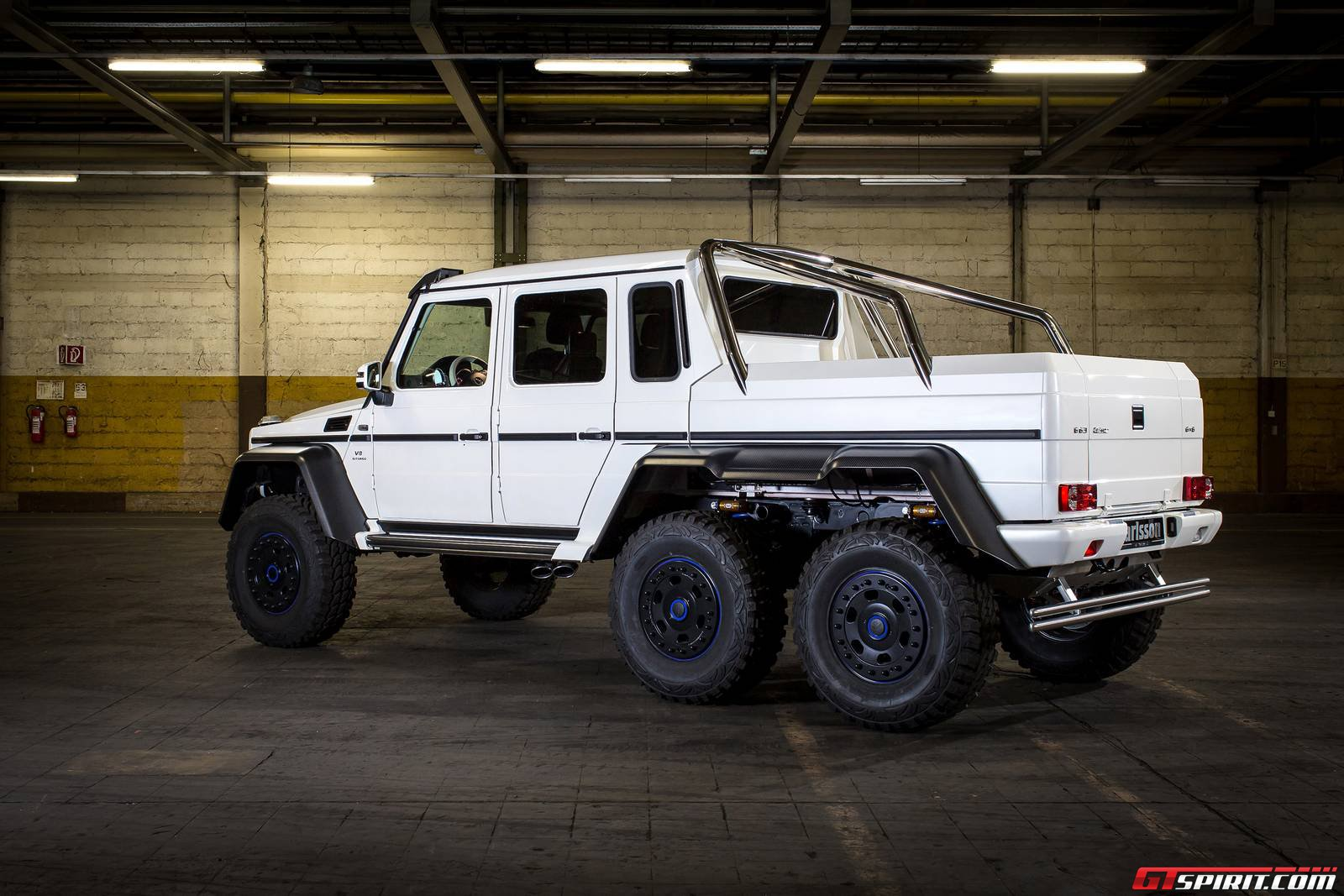 Official Carlsson Mercedes Benz Cg63 Amg 6x6 Gtspirit