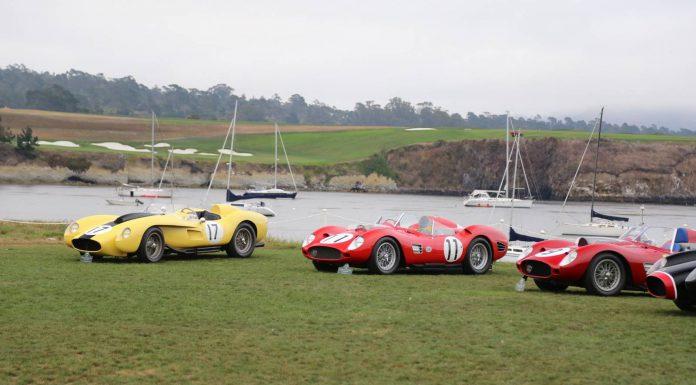 Monterey 2014: Ferrari 250 TR Gathering