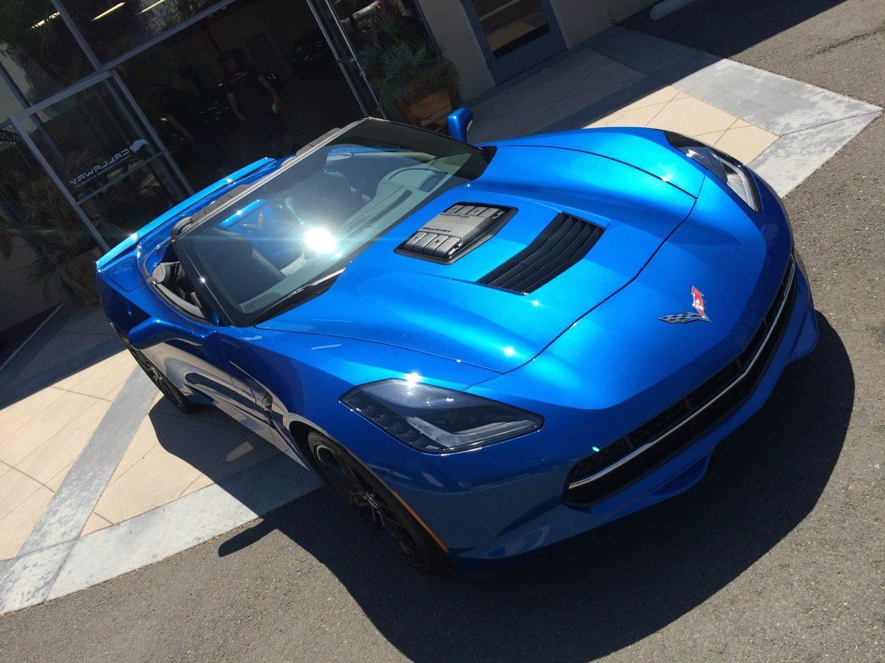 Stunning Blue Callaway Corvette SC627 - GTspirit