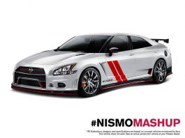 Nismo Creates Crazy Sentra 370Z and Maxima GT-R Mashup Renders!