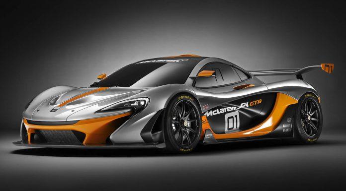 Official: McLaren P1 GTR Design Concept