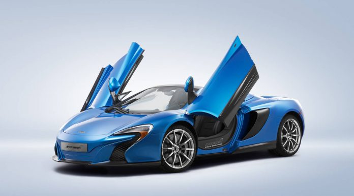 McLaren Special Operations to Showcase 650S Spider and P1 at Pebble Beach