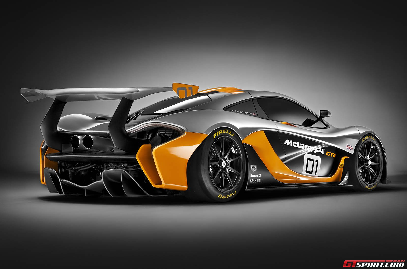 official mclaren p1 gtr design concept gtspirit. Black Bedroom Furniture Sets. Home Design Ideas