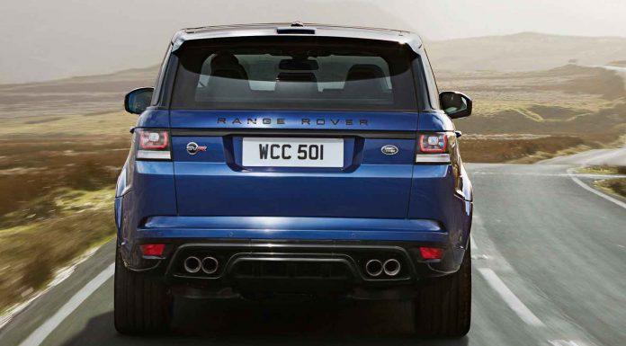 Official: 2015 Range Rover Sport SVR