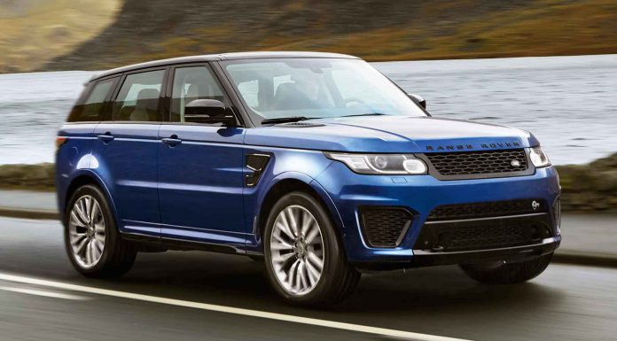 Range Rover Sport SVR Going on Sale in October; First Deliveries in 2015