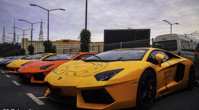 Lamborghini Convoy