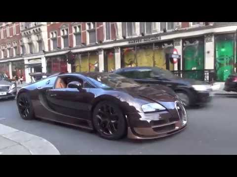 video bugatti veyron grand sport vitesse rembrandt in london gtspirit. Black Bedroom Furniture Sets. Home Design Ideas