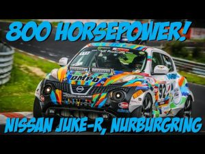 Video Thriller Ride In A 800hp Nissan Juke R At The
