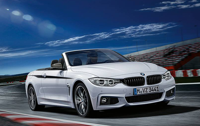 Bmw 4 Series Convertible And Coupe With M Performance