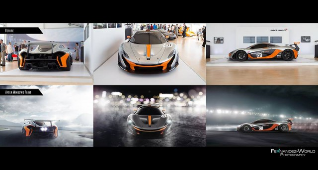 Fernandez-World Recreates Amazing McLaren P1 GTR Photoshoot