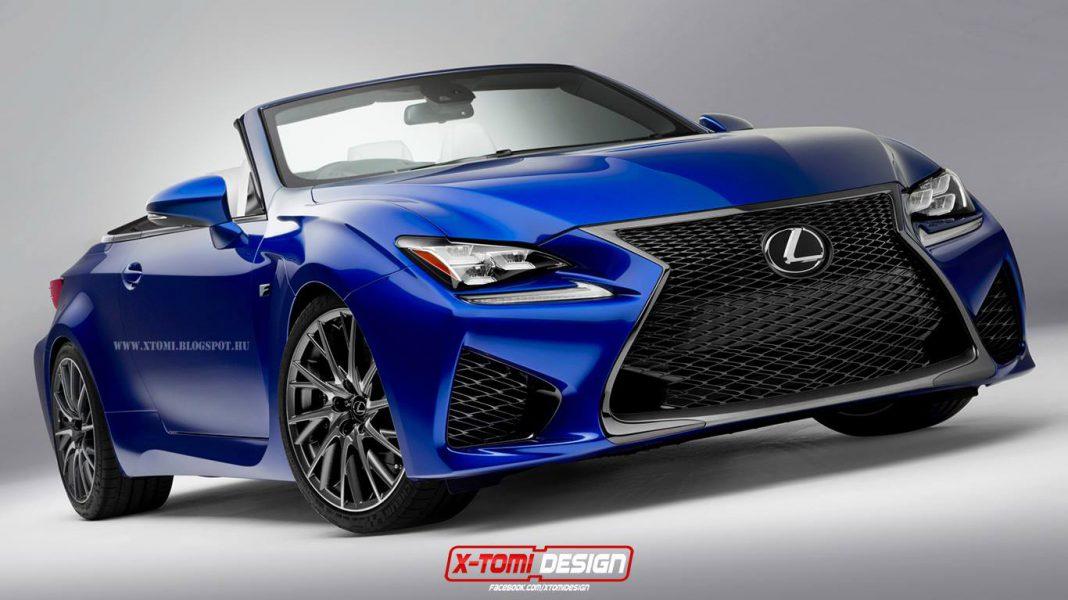 Render: Lexus RC F Cabriolet