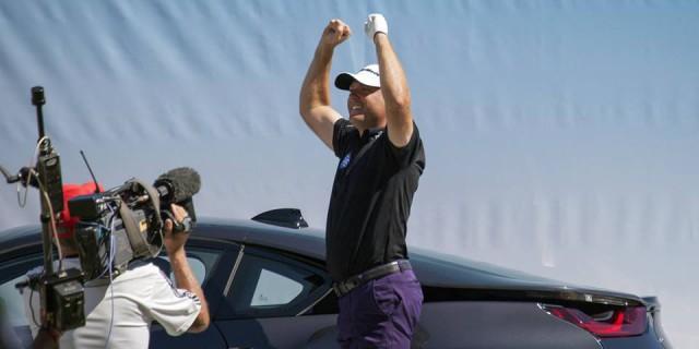 Golf Star Graeme Storm Wins BMW i8