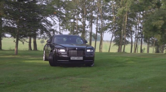 Video: Rolls-Royce Wraith Goes Hard Drifting with Tax The Rich