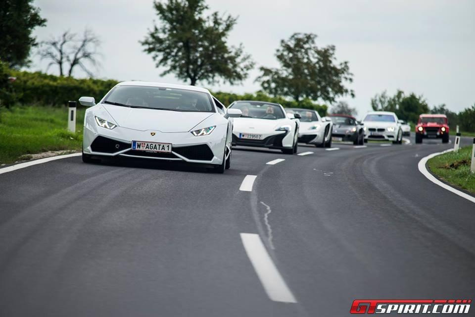 Mega Gallery International Sports Car Club Meeting In Austria - Sports cars international