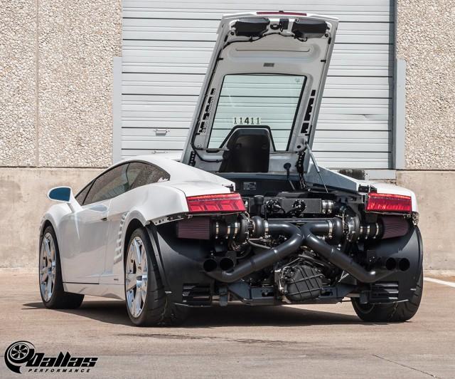 1100hp Lamborghini Gallardo Twin Turbo by Dallas Performance