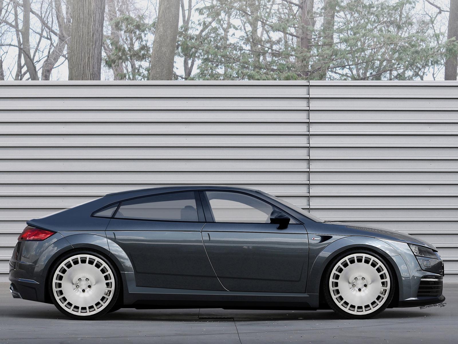 Upcoming Audi Tt Sportback Concept Rendered Gtspirit