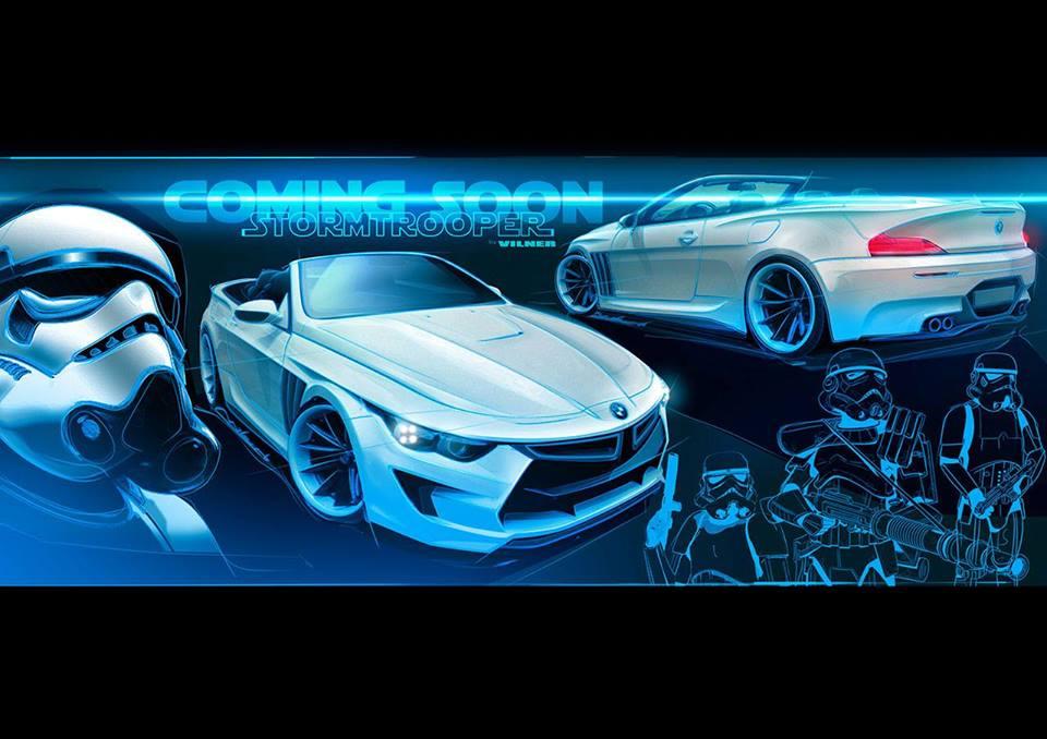 Vilner Teases StormTrooper BMW 6 Series Convertible