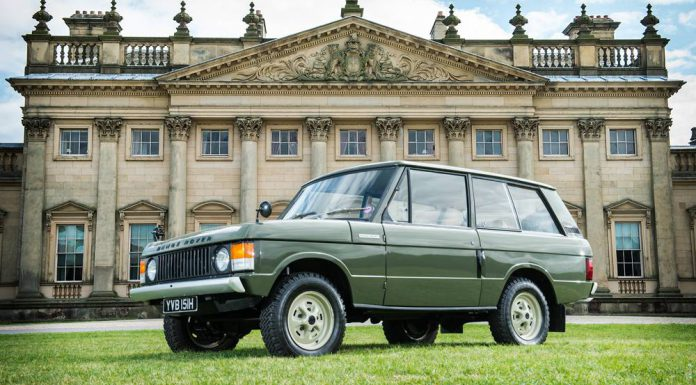 First Ever Range Rover #001 Auctions for £132,250