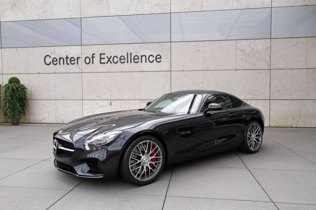 Gallery: 2015 Mercedes AMG GT in Black