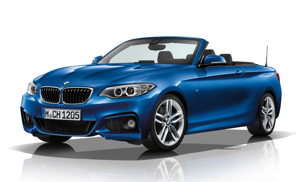 official 2015 bmw 2 series convertible m sport gtspirit. Black Bedroom Furniture Sets. Home Design Ideas