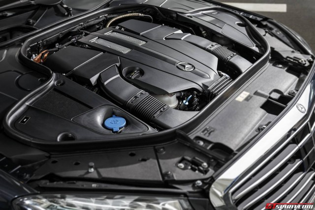 2015 Mercedes-Benz S500 Plug-in-Hybrid Engine