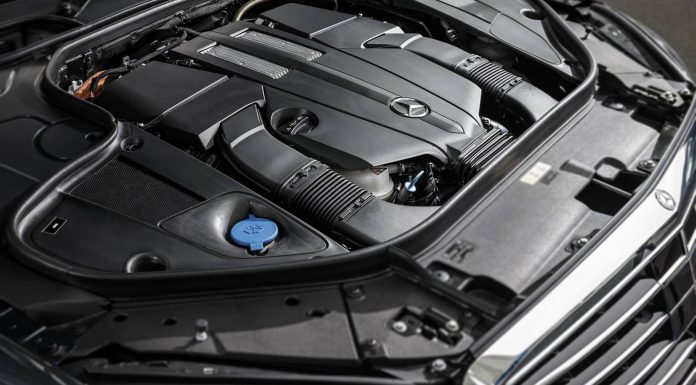 2015 Mercedes-Benz S500 Plug-in-Hybrid Engine