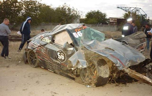 Driver Killed in Horrific Russian Nissan GTR Drag Racing Crash
