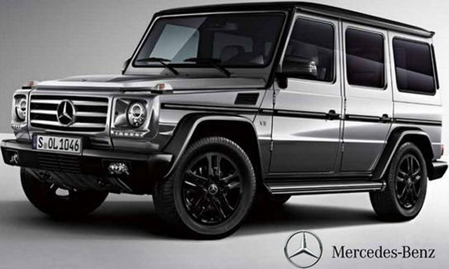 Official 2015 mercedes benz g class 35 edition gtspirit for New mercedes benz g wagon