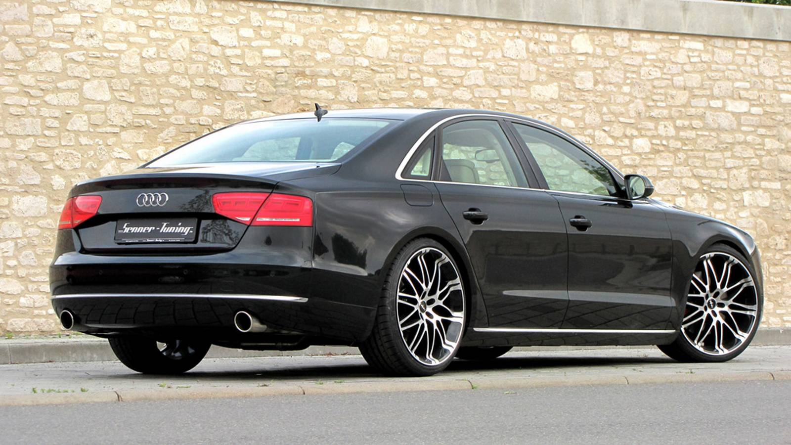 official audi a8 by senner tuning gtspirit. Black Bedroom Furniture Sets. Home Design Ideas