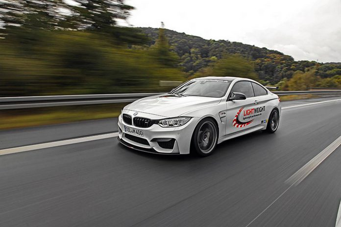 Official: 520hp BMW M4 Coupe by Lightweight