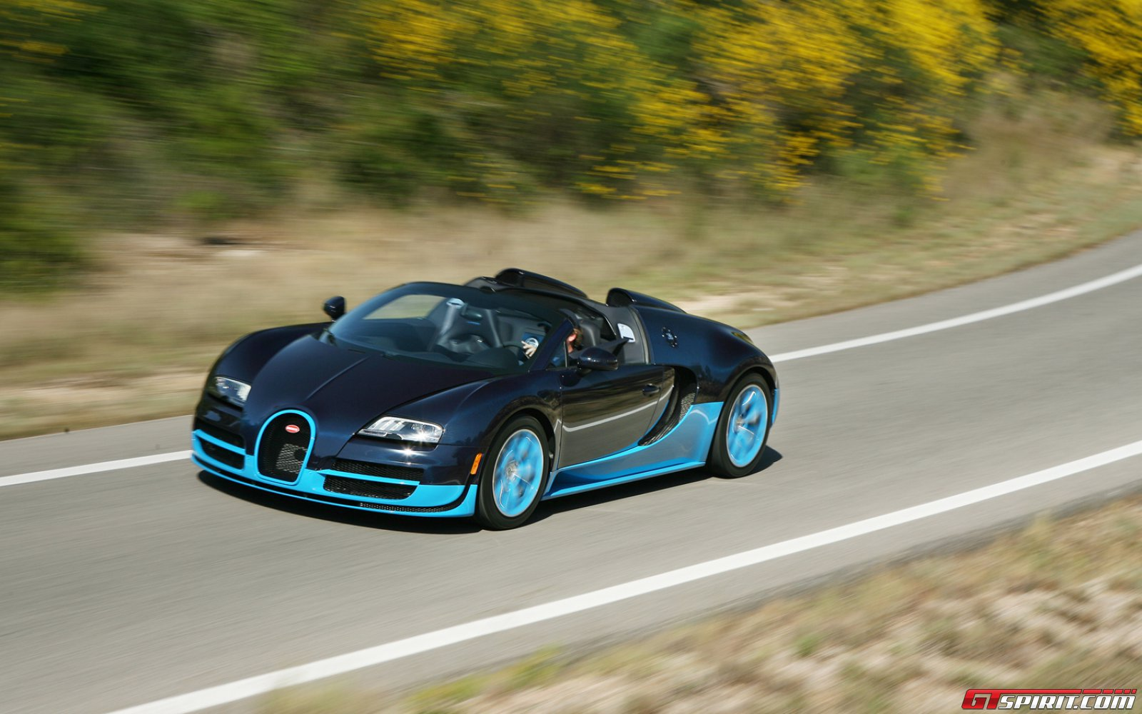 Bugatti Veyron Grand Sport Vitesse World Record Car Review Gtspirit