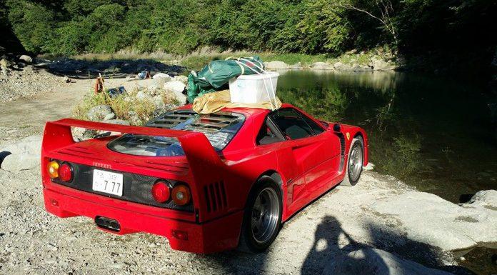 Paramount Fun: Camping with a Ferrari F40