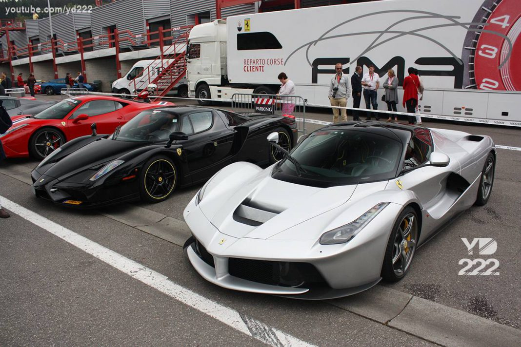 2014 Ferrari Owners Day Out at Spa