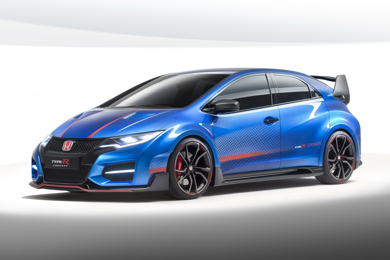 new honda civic type r concept unveiled gtspirit. Black Bedroom Furniture Sets. Home Design Ideas