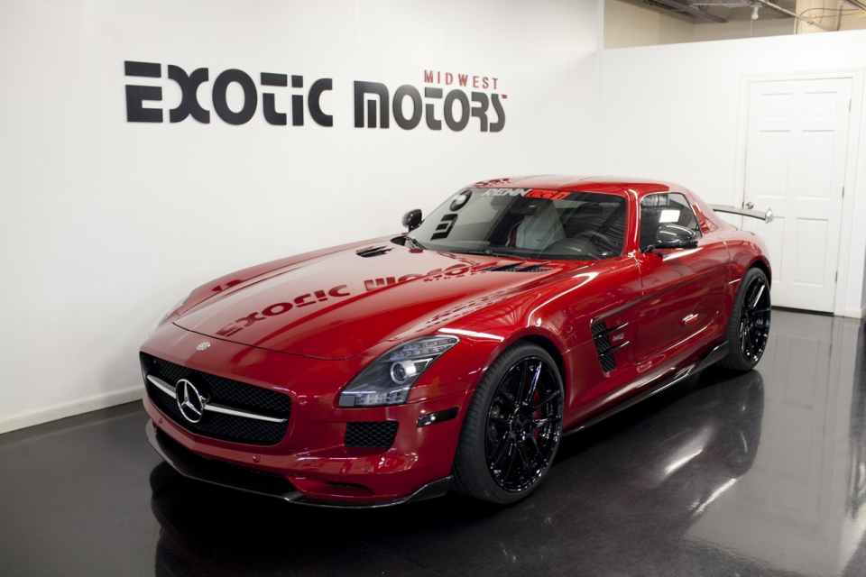 Mercedes Benz Sls Amg For Sale >> Potent Renntech Tuned Mercedes Benz Sls Amg For Sale Gtspirit