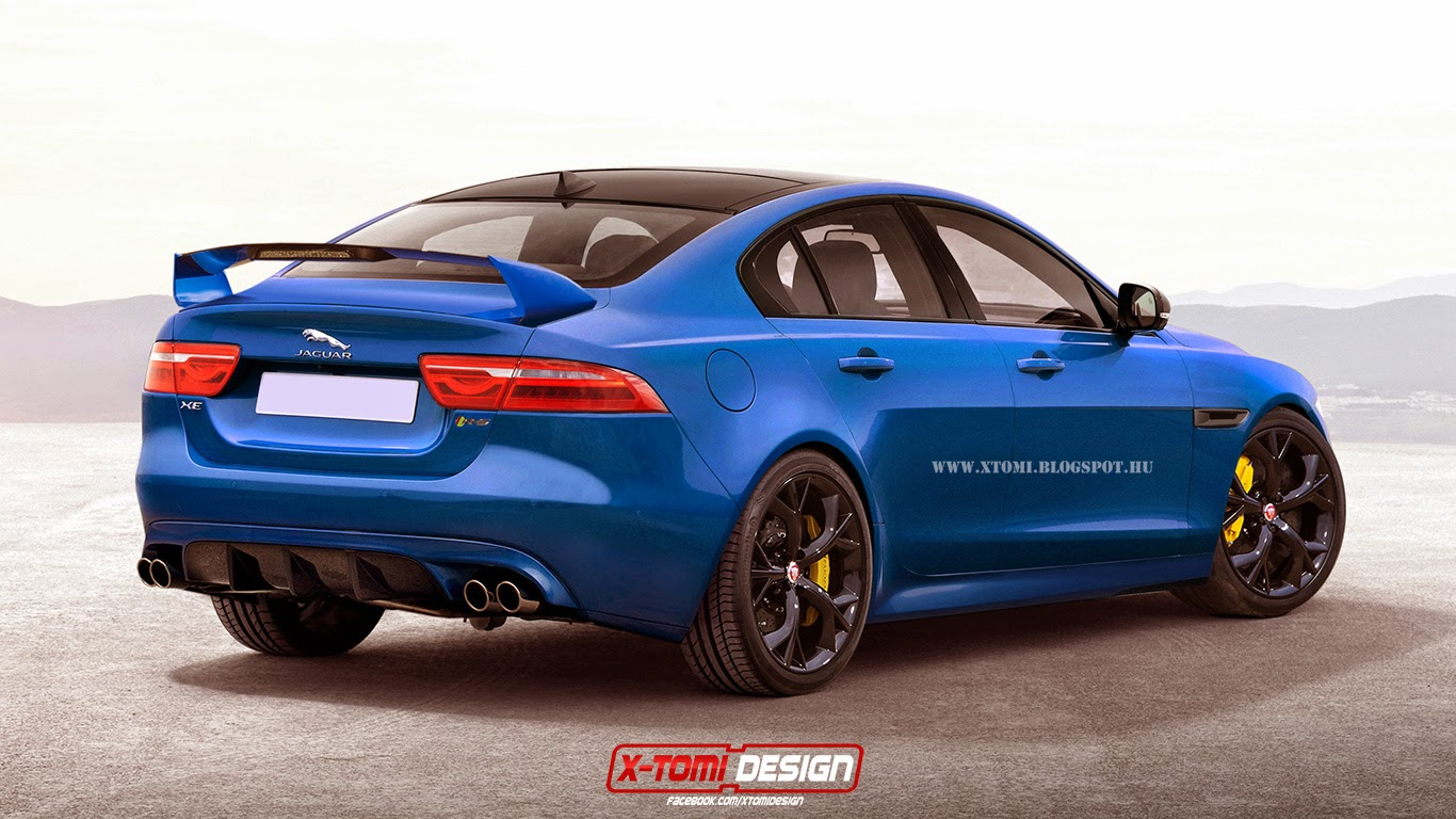 range topping jaguar xe svr rendered gtspirit. Black Bedroom Furniture Sets. Home Design Ideas